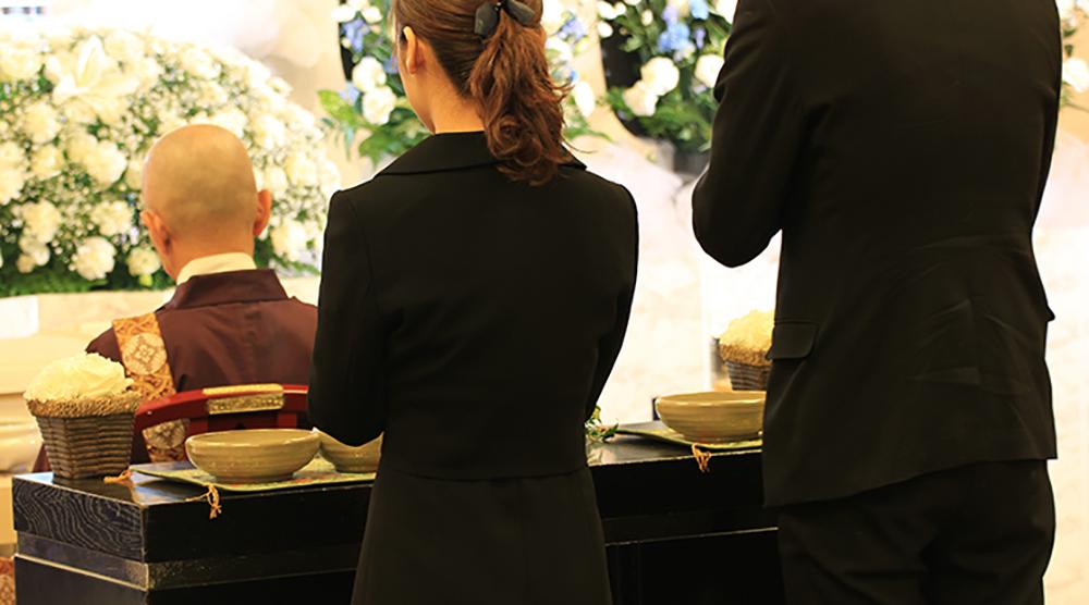 草加市での葬儀っての写真